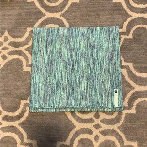 EUC lululemon vinyasa scarf. Green multi.